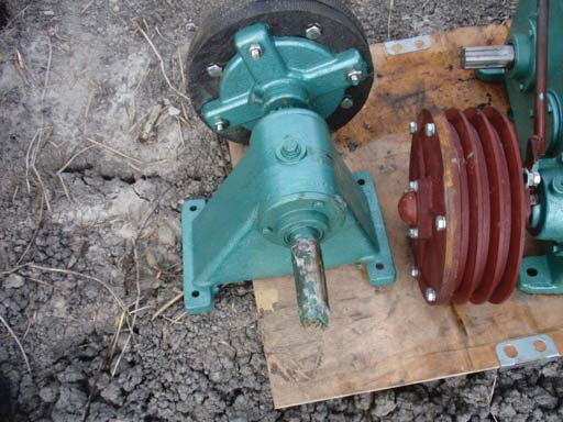 Molten bearing base - SPARE PARTS FOR AERATORS