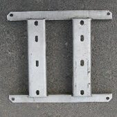 CENTRAL FRAME FOR AERATOR 1 - SPARE PARTS FOR AERATORS